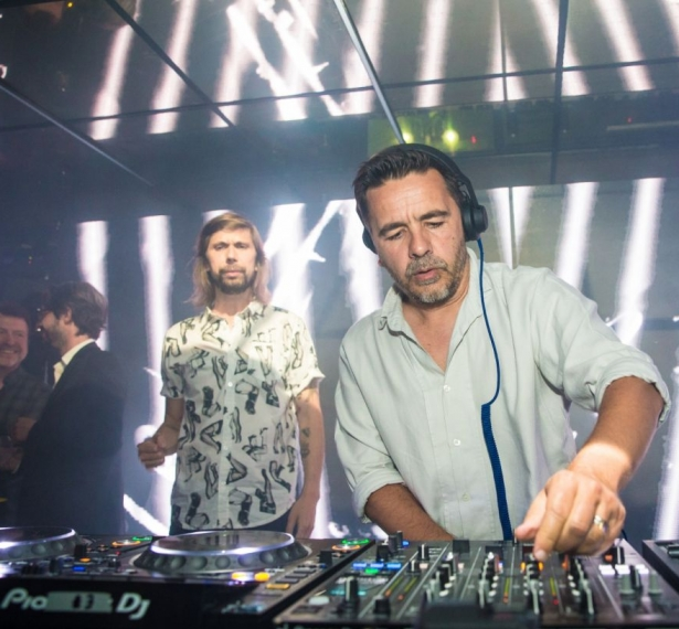 Laurent Garnier et Busy P