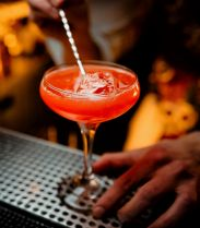 La recette du mocktail Fluctail Red du bar Fluctuart