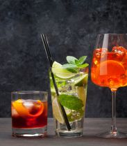 Recette : Le cocktail Calvi Red Mint de Mar A Beach