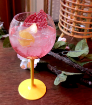 La recette du Virgin Mama Rose, un mocktail acidulé
