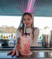 French Kiss in Paris, le cocktail signature de La Vue